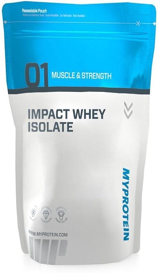 MyProtein Impact Whey Isolate Proteína de Suero, Sabor Caramelo Salado - 2500 gr