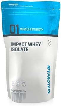 MyProtein Impact Whey Isolate Proteína de Suero, Sabor ...