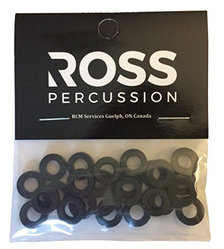ROSS Percussion Black Tension Rod Washers - 100 Pack