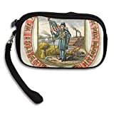 Iowa State Coat Of Arms Deluxe Printing Small Purse Portable Receiving Bag