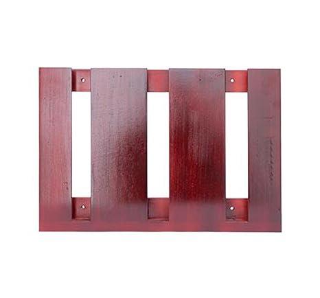 YAN Long Home Portavasos Estante de Vidrio Colgante de Madera Maciza Creatividad Invertido Portavasos Alto Hogar