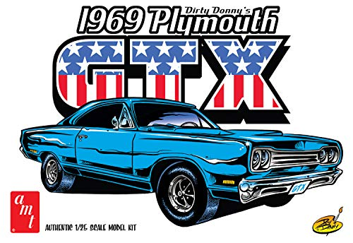 AMT Dirty Donny's 1969 Plymouth GTX 1/25 1065 Plastic Model Kit
