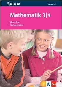 mathematik gewichte textaufgaben 34 klasse