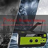 [2021 Newest] Emergency-Hand-Crank-Radio,4000mAh