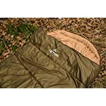 TETON Sports Regular Sleeping Bag; Great for Family Camping; Free Compression Sack 19 COMFORTABLE SLEEPING BAG: Soft lining; Half-circle mummy style hood keeps you warm and your pillow clean; Unzips on each side for airflow and easy access; For camping in three seasons NEVER ROLL YOUR SLEEPING BAG AGAIN: TETON provides a great compression sack for stuffing your sleeping bag; Start at the bottom and stuff the bag in, then tighten the heavy-duty straps STAY WARM IN COLD WEATHER: You'll be warm and rested in this sleeping bag; Innovative fiber fill, double-layer construction and draft tubes work together to keep the warmth in