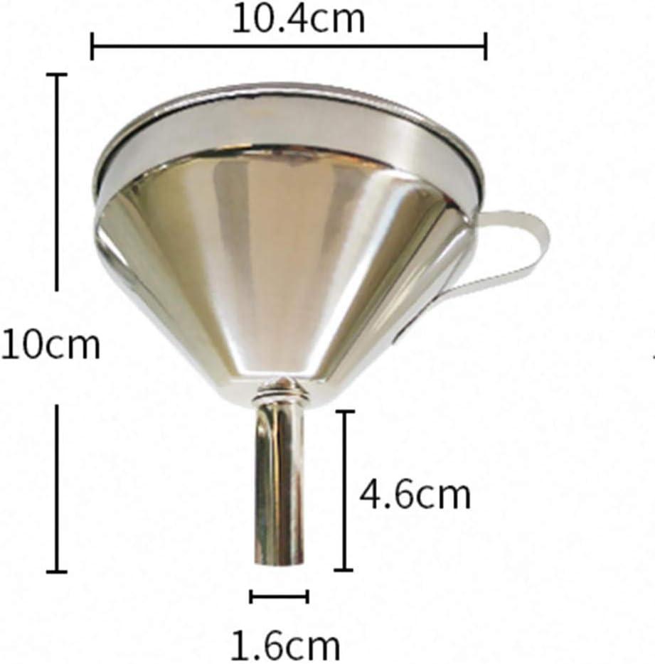 Fefaxi /Öltrichter Nahrungsmittelgrad 304 Edelstahltrichter konischer Wein/ölverlust 11 cm
