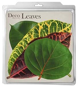 Tropical Deco Parchment Leaves