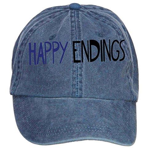 Tommery Unisex Happy Endings Logo Hip Hop Baseball Caps
