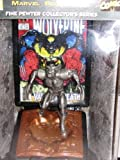 Limited Edition Pewter Statue of Wolverine 1993 Modern Age Edition