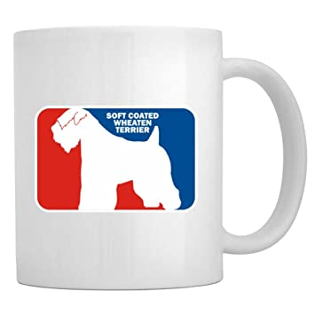 Amazon.com | Teeburon Soft Coated Wheaten Terrier Sports Logo Mug ...