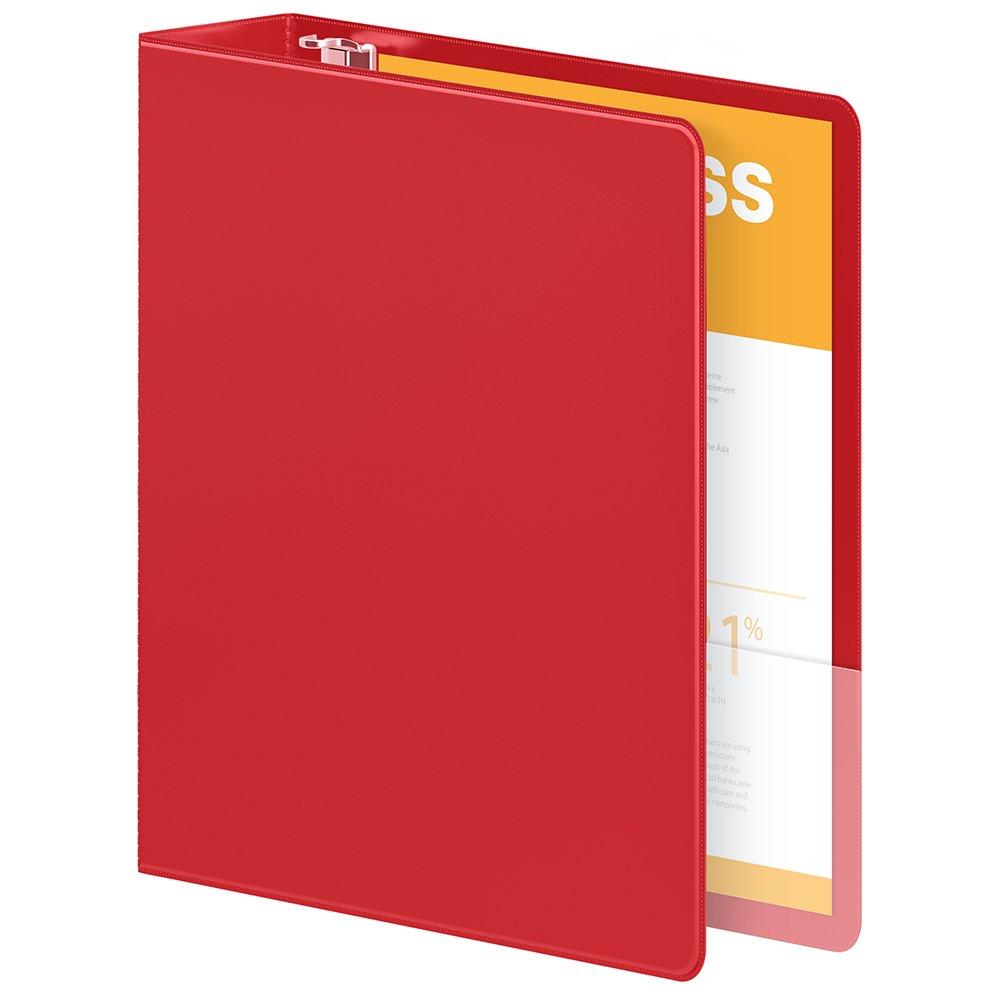 Wilson Jones resistente D-ring View bisagras anillas con bisagras View EXTRA resistentes, color Rojo paquete de 1 unidad cc70bf