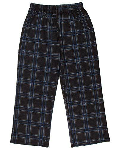 Capelli New York Little Boys Plaid Printed Jersey Pajama Pant Black Combo - Jersey Mall York New