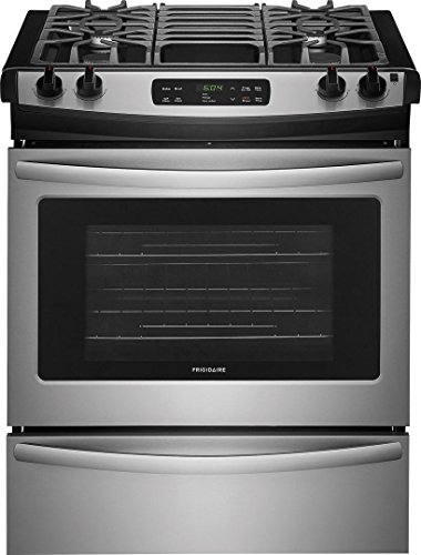 Frigidaire FFGS3026TS 30 Inch Slide-in Range with Sealed Burner Cooktop in Stainless Steel