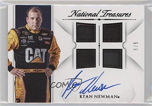 ryan-newman-5-trading-card-2016-panini-national-treasures-signature-quad-materials-black-sqm-rn