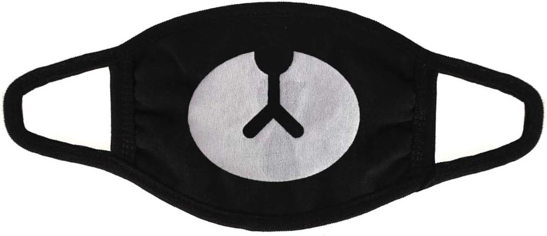CoolChange Máscara de protección de K-Pop para el frío y el Polvo, 5X Piezas, con Motivo de Gato