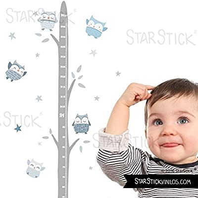 StarStick Vinilos infantiles Medidor Ni/ña con globos