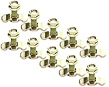 10 PACK of L-TRACK THREADED STUD FITTING