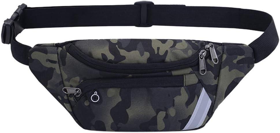 VECDUO Unisex Sling Bag Nylon Zipper Waterproof Messenger Bag Chest Bag Waist Bag Phone Bag Outdoor Sports Fitness Multipurpose Daypacks