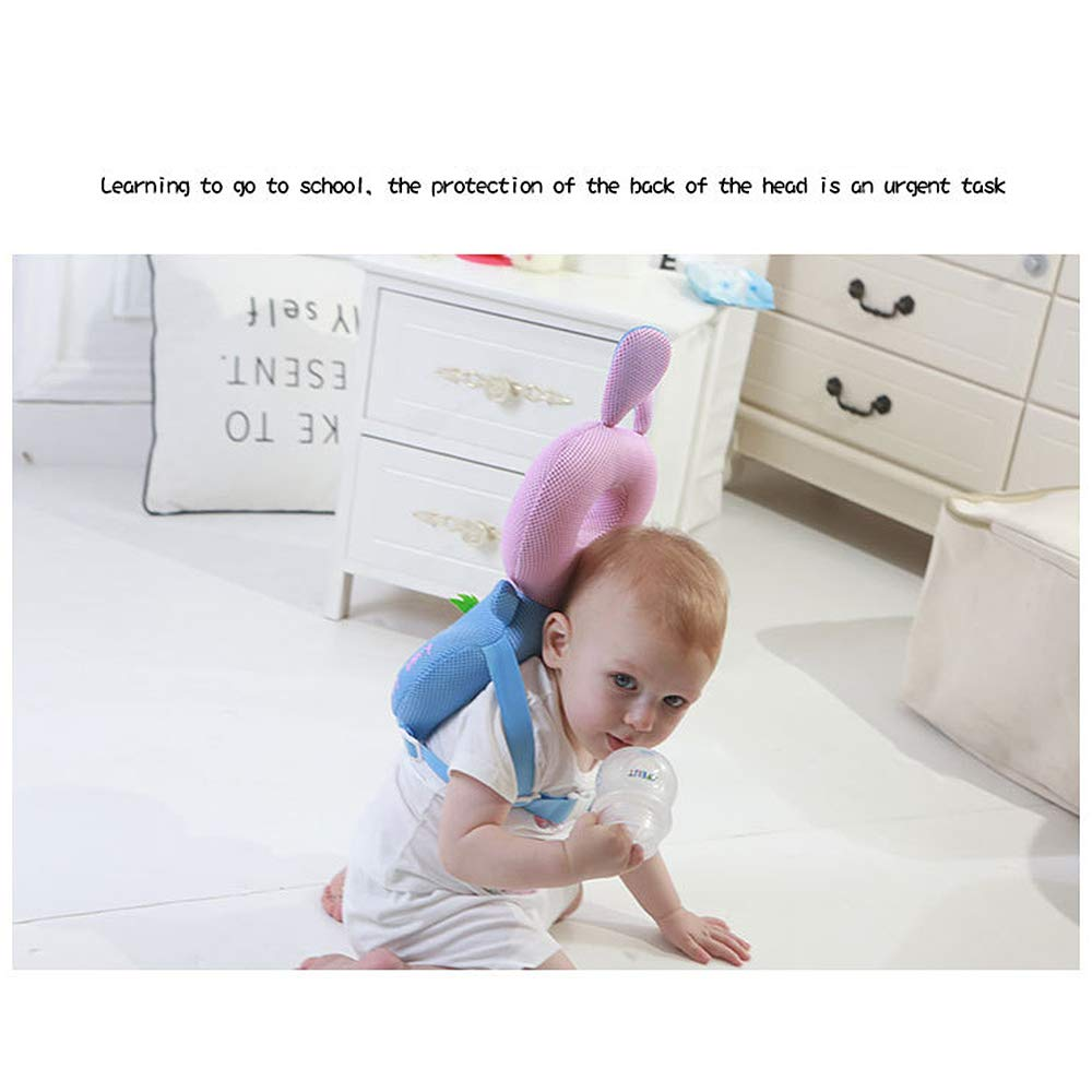 verstellbare Sicherheitspads Elefant RB Baby Kleinkind Kopfschutz Baumwolle Baby Schutzkissen Baby Schutz Kissen Baby R/ückenschutz verhindert Kopfverletzungen geeignet Alter 4-24 Monate