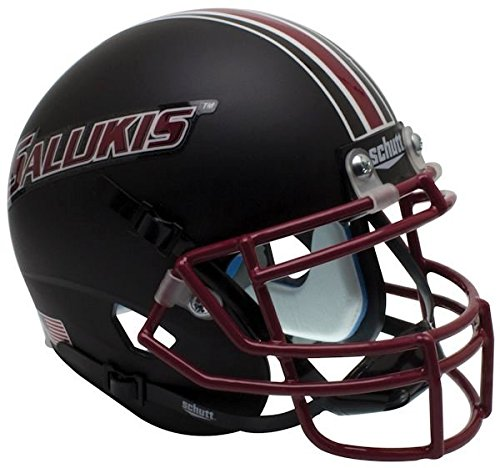 SOUTHERN ILLINOIS SALUKIS NCAA Schutt XP Authentic MINI Football Helmet SIU (MATTE BLACK)