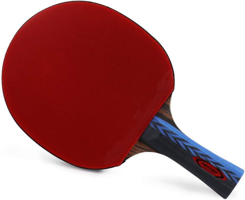 Ping Pong Ping-Pong Mesa Pala Raqueta De Tenis De Mesa Raqueta De Ping-Pong De Un Solo Golpe De Seis Estrellas Traje De Estudiante De Latido Cruzado Regalo Dedicado De Una Persona Pelota Especial