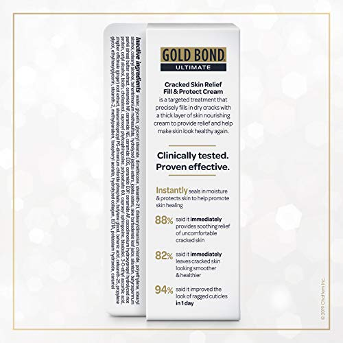 Gold Bond Ultimate Cracked Skin Relief Fill & Protect Cream, Precision Tip, 0.75 Ounce