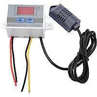 Digital Hygrometer Switch Controller Xh-W3005 Temperatur Luftfuktighet Meter Luftfuktighetssensor 0~99% Rh 12V/24V/220V…