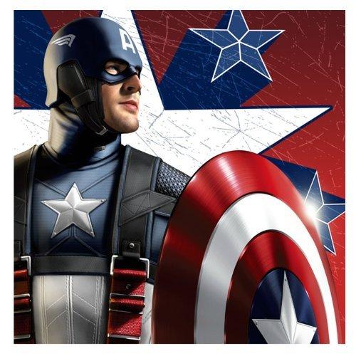 Captain America Large Napkins (16ct) -