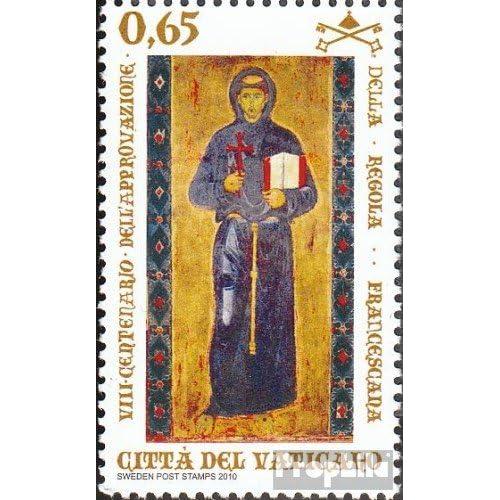 Vatikanstadt 1680 (complète.Edition.) 2010 Protoregel hl. françois (Timbres pour les collectionneurs)