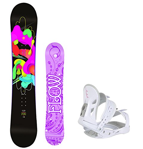 's Snowboard Package with Avalanche Bindings 4 YR WARRANTY- Board Size 140 ()