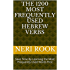 The 1200 Most Frequently Used Hebrew Verbs: Save Time By Learning the Most Frequently Used Words First