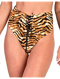 iHeartRaves Zipper High Waisted Rave Shorts