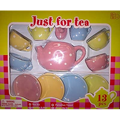 Lollipop Toys Just for Tea 13 Pcs Porcelain Set: Toys & Games