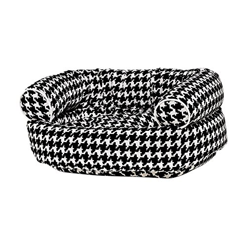 Microvelvet Double Donut Bed - Bowsers Diamond Series Microvelvet Double Donut Dog Bed