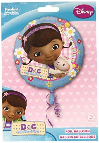 Anagram 18 Inch Circle Foil Balloon - Doc Mcstuffin -