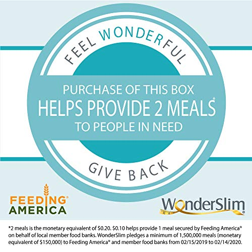 WonderSlim High Protein Meal Replacement Bar - High Fiber, Kosher, Choco Marshmallow - 3 Box Value-Pack (Save 5%) by WonderSlim (Image #1)