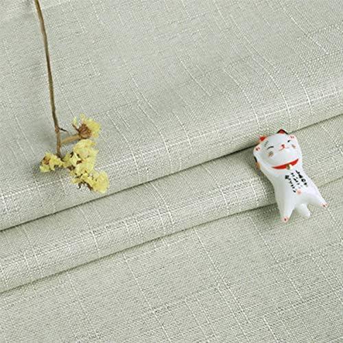 ONECHANCE Tela de lino de algodón de arpillera mantel de lona ...