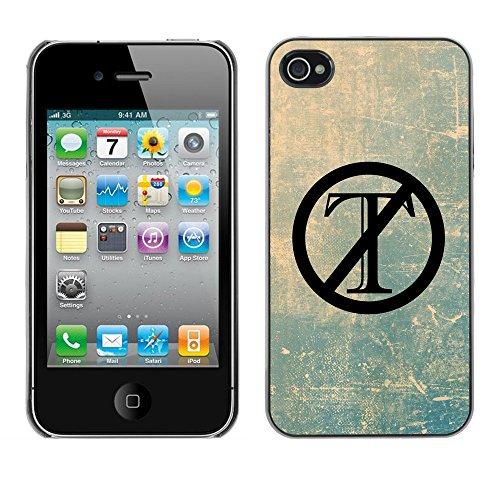 Print Motif Coque de protection Case Cover // Q04120512 Trump dehors grunge // Apple iPhone 4 4S 4G