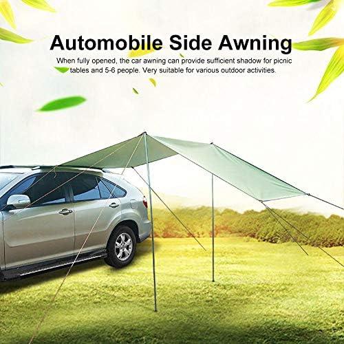 Toldo para coche de camping, toldo para coche, camping, impermeable, portátil, tienda de campaña, automóvil, techo de lluvia 300*150cm verde: Amazon.es: Hogar