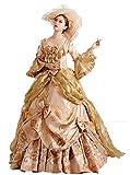 Zukzi Women's Gorgeous Victorian Train Ball Gown Wedding Dress, US 4, #H069