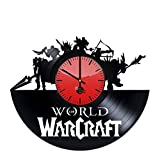 Cheap World of Warcraft Handmade Vinyl Record Wall Clock Fun gift Vintage Unique Ho…
