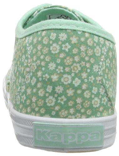 Kappa HOLY FLOWER K Footwear Kids, Textile - Caña baja de tela infantil multicolor - Mehrfarbig (3710 MINT/WHITE)