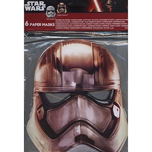 6 Masques Star Wars VII 7 - Taille Unique