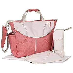 urban sumo messenger diaper bag backpack by okiedog coral baby. Black Bedroom Furniture Sets. Home Design Ideas