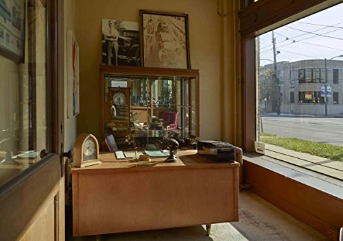 Photograph | An old car-salesman's office at America's Packard Museum| Fine Art Photo Reporduction 44in x ()