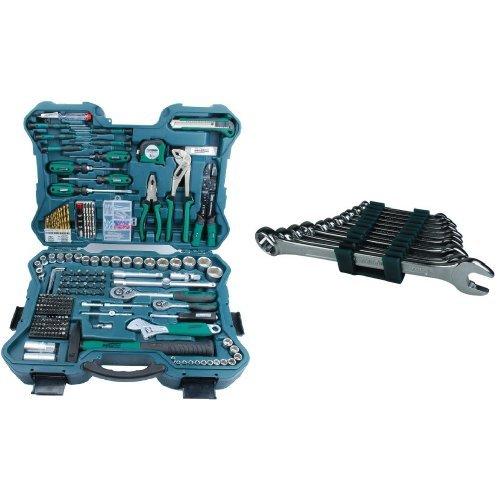 Mannesmann - M29088 - 303 piezas Juego de llaves de vaso y herramientas + M19652 Juego de 12 llaves combinadas 6 a 22 CV: Amazon.es: Bricolaje y ...