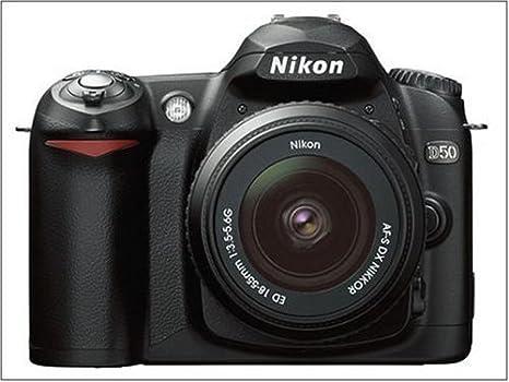 Nikon D50 - Cámara Digital SLR (6 mega pixeles) Negro + DX 18 - 55 ...