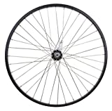 "Flying Horse Heavy Duty 12 Gauge Coaster Brake Rear 26"" x 1.5"" Bicycle Rim Set – Gas Bike HD Rim Upgrade (Black)"