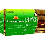 Pine Mountain 100-Percent Natural Firelog, 3-Hour Burn - 6 pack
