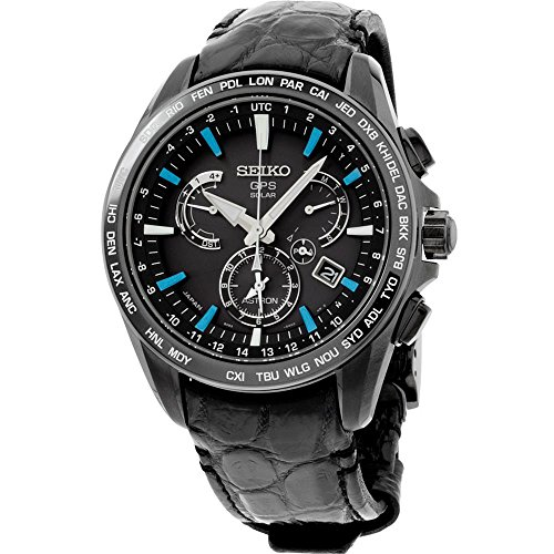 Seiko Mens ASTRON GPS Limited Edition Solar Watch, SSE067